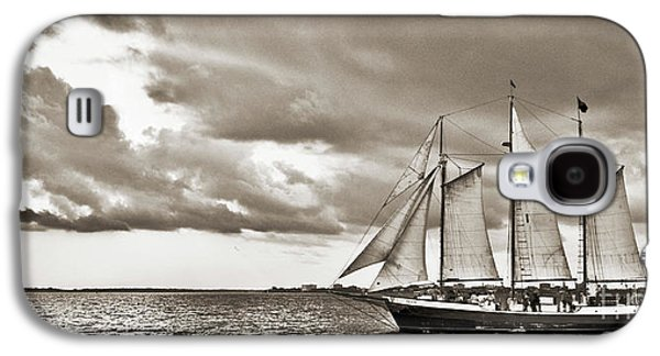 Historic Ship Galaxy S4 Cases - Schooner Pride Tallship Charleston SC Galaxy S4 Case by Dustin K Ryan