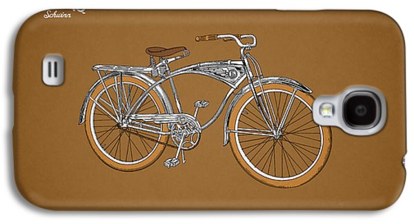 Bicycle Photographs Galaxy S4 Cases - Schwinn Bicycle 1939 Galaxy S4 Case by Mark Rogan