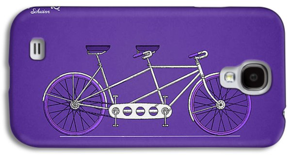 Bicycle Photographs Galaxy S4 Cases - Schwinn Bicycle 1945 Galaxy S4 Case by Mark Rogan