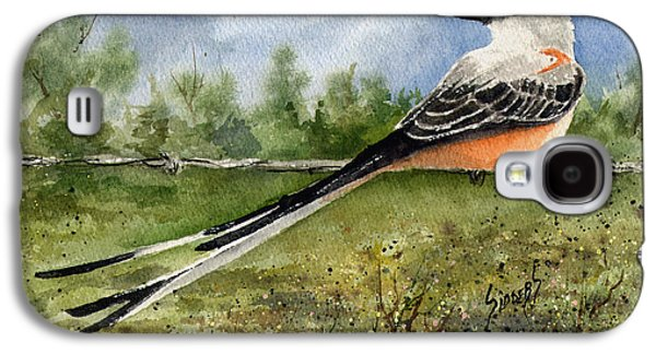 Scissor-tail Flycatcher Galaxy S4 Case by Sam Sidders