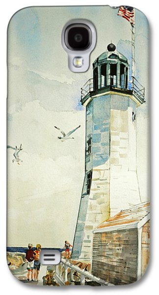 Scituate Light Galaxy S4 Case by P Anthony Visco