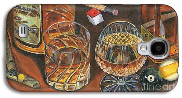 Scotch Cigars And Poll Galaxy S4 Case by Debbie DeWitt