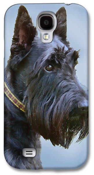 Scottish Terrier Dog Galaxy S4 Case by Jennie Marie Schell