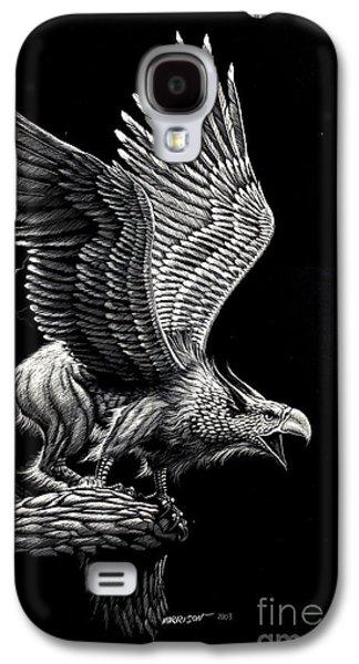 Screaming Griffon Galaxy S4 Case by Stanley Morrison
