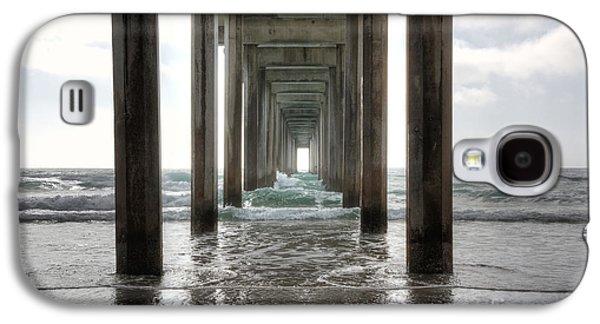Scripps Pier Galaxy S4 Case by Eddie Yerkish