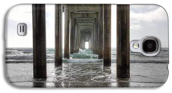 Scripps Pier Galaxy S4 Case by Eddie Yerkish