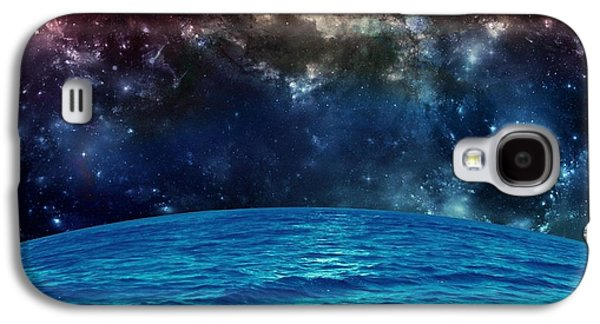 Sun Galaxy S4 Cases - Sea in Space Galaxy S4 Case by Rr Co