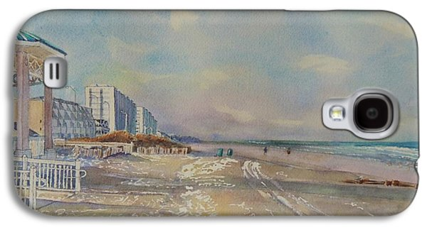 Jersey Shore Paintings Galaxy S4 Cases - Sea Isle City New Jersey Galaxy S4 Case by Patty Kay Hall