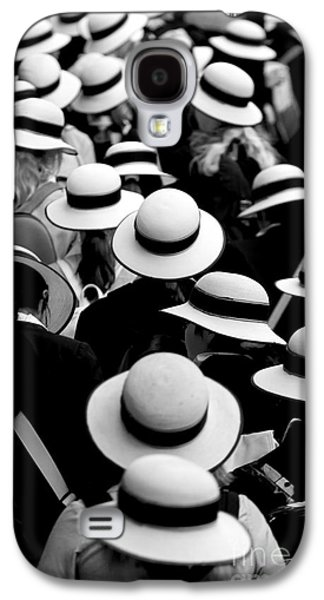 Mother Galaxy S4 Cases - Sea of Hats Galaxy S4 Case by Sheila Smart