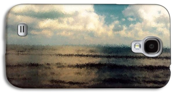 Midday Paintings Galaxy S4 Cases - Sea of heaven  Galaxy S4 Case by Chiheb Eddine Fatnassi