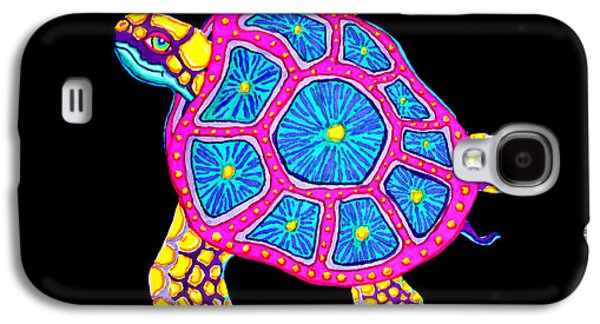 Aquatic Drawings Galaxy S4 Cases - Sea Turtle Galaxy S4 Case by Nick Gustafson