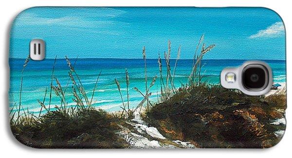 Florida Panhandle Galaxy S4 Cases - Seagrove Beach Florida Galaxy S4 Case by Racquel Morgan
