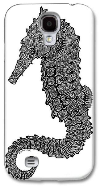 Seahorse Galaxy S4 Case by Carol Lynne