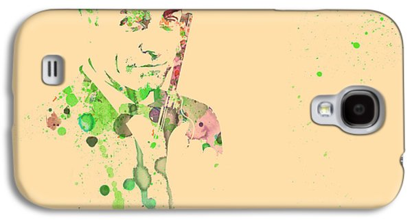 Movie Art Galaxy S4 Cases - Sean Connery Galaxy S4 Case by Naxart Studio