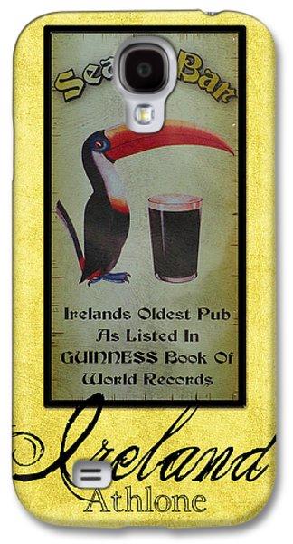 Seans Bar Guinness Pub Sign Athlone Ireland Galaxy S4 Case by Teresa Mucha