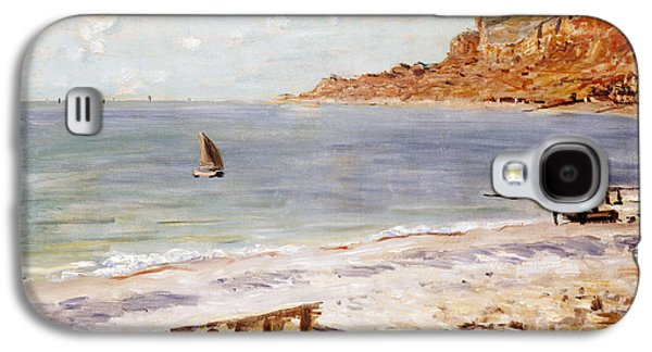 Seascape At Sainte Adresse  Galaxy S4 Case by Claude Monet