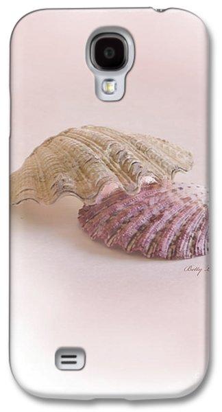 Seashell Digital Art Galaxy S4 Cases - Seashell Love Galaxy S4 Case by Betty LaRue