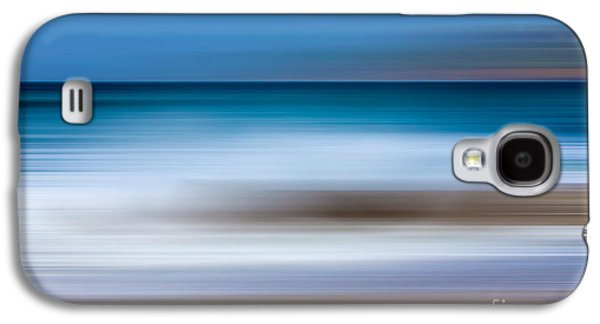 Abstract Digital Mixed Media Galaxy S4 Cases - Seaside Impressions 1 Galaxy S4 Case by Linsey Williams