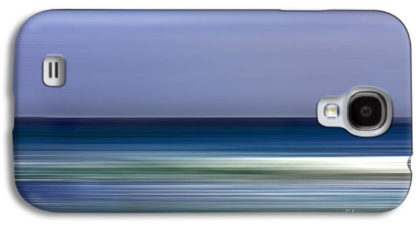 Abstract Digital Mixed Media Galaxy S4 Cases - Seaside Impressions 4 Galaxy S4 Case by Linsey Williams