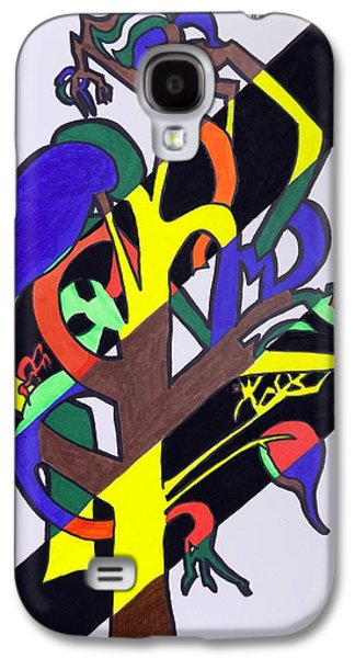 Business Galaxy S4 Cases - Seasonal Tree Galaxy S4 Case by Mary Sperling
