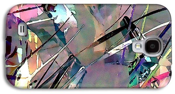 Abstract Digital Art Mixed Media Galaxy S4 Cases - Seasonings Fall T-Shirt Design Galaxy S4 Case by Terril Heilman