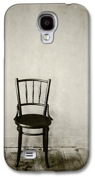 Chair Pyrography Galaxy S4 Cases - Seating for one Galaxy S4 Case by Mark Cheah