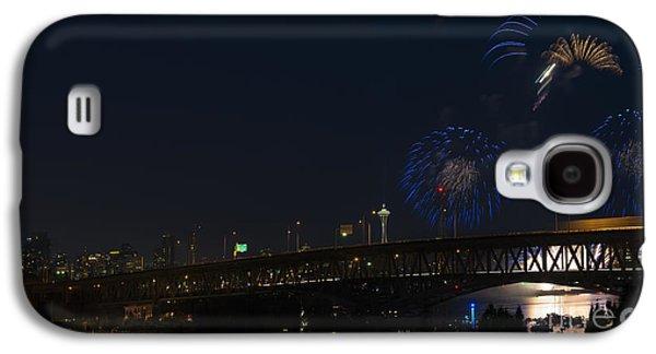 Seattle Fireworks Galaxy S4 Case by Mike Dawson