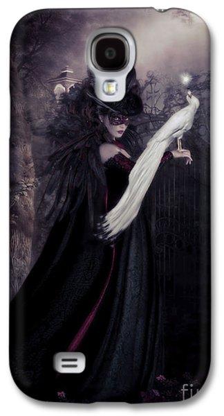 Gothic Galaxy S4 Cases - Secret Garden Galaxy S4 Case by Shanina Conway