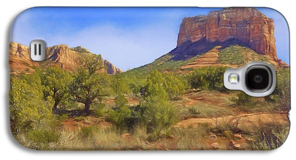 Sedona Landscape - 1 - Arizona Galaxy S4 Case by Nikolyn McDonald