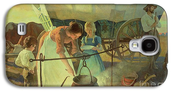 Seeking The New Home Galaxy S4 Case by Newell Convers Wyeth