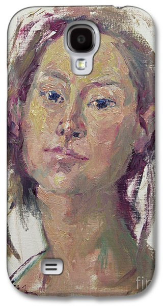 Self Portrait 1602 Galaxy S4 Case by Becky Kim