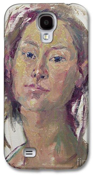 Self Portrait 1602 Galaxy S4 Case by Becky Kim