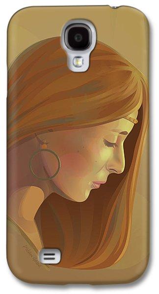 Inner Self Galaxy S4 Cases - Self-reflection Galaxy S4 Case by Adam Gaba