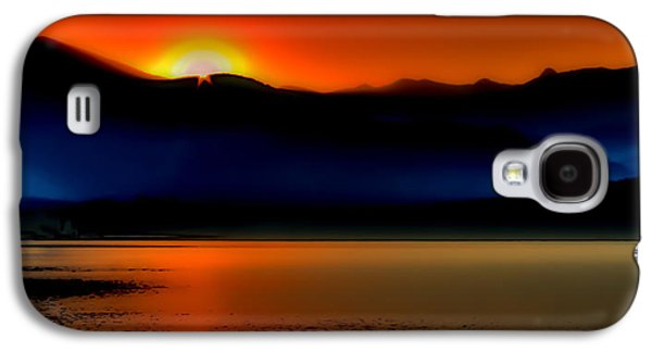 Nature Abstracts Galaxy S4 Cases - Selkirk Sunrise on Priest Lake Galaxy S4 Case by David Patterson