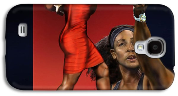 Sensuality Under Extreme Power - Serena The Shape Of Things To Come Galaxy S4 Case by Reggie Duffie