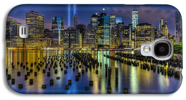 Wtc 11 Galaxy S4 Cases - September 11 NYC Tribute Galaxy S4 Case by Susan Candelario