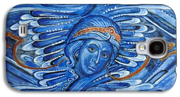 Greek Icon Paintings Galaxy S4 Cases - Seraphim Galaxy S4 Case by Olga Dytyniak