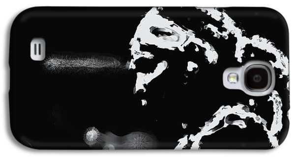 Slam Galaxy S4 Cases - Serena Williams 022 Galaxy S4 Case by Brian Reaves