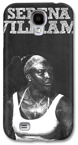 Serena Williams Galaxy S4 Case by Semih Yurdabak