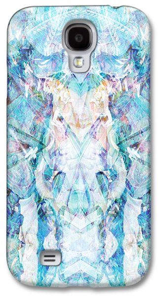 Abstract Digital Paintings Galaxy S4 Cases - Serendipity Galaxy S4 Case by Beth Travers