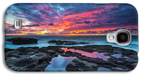 Photographs Galaxy S4 Cases - Serene Sunset Galaxy S4 Case by Robert Bynum