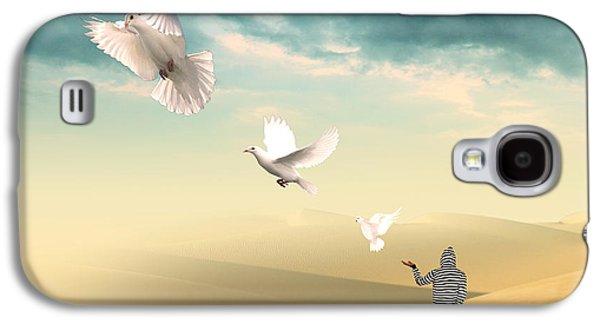 Spiritualism Galaxy S4 Cases - Set Me Free Again  Galaxy S4 Case by Mark Ashkenazi