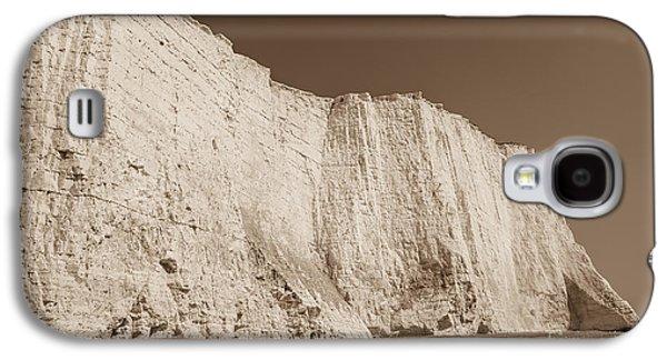 Sepia Chalk Galaxy S4 Cases - Seven Sisters Cliffs 26 Galaxy S4 Case by Marcin Rogozinski