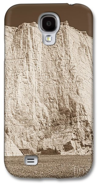 Sepia Chalk Galaxy S4 Cases - Seven Sisters Cliffs 28 Galaxy S4 Case by Marcin Rogozinski