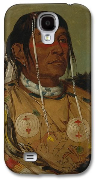 Sha-co-pay, The Six, Chief Of The Plains Ojibwa Galaxy S4 Case by George Catlin