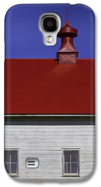 Shaker Red Roof Galaxy S4 Case by Garry Gay