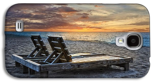 Beach Landscape Galaxy S4 Cases - Share the Moment Galaxy S4 Case by Debra and Dave Vanderlaan