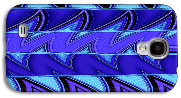 Aqua Condominiums Galaxy S4 Cases - Shark Fins Galaxy S4 Case by Ann Johndro-Collins