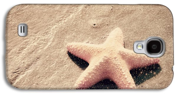 Beach Photography Galaxy S4 Cases - She Dreamed of Becoming a Star Galaxy S4 Case by Amy Tyler