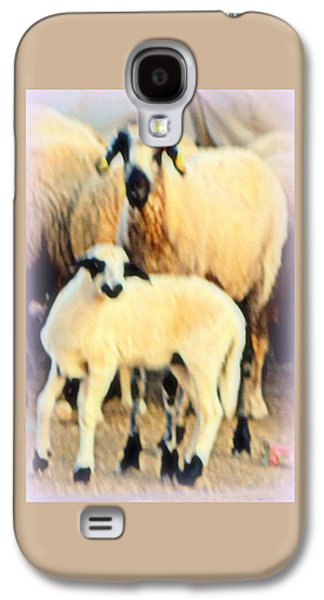 Temperament Galaxy S4 Cases - Sheep K  Galaxy S4 Case by Hilde Widerberg